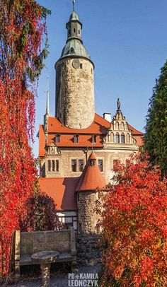 At the Czocha Castle, Poland.