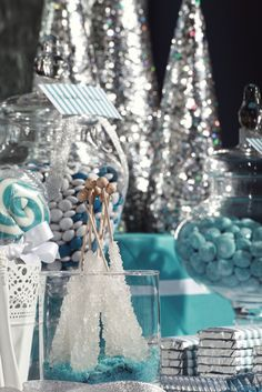 Christmas/Holiday Silver & Blue Christmas | Catch My Party