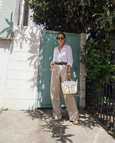 How to Style a Linen Outfit for the Heatwave