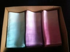 Ombre Napkins @ Amys Button Box