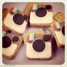 Instagram Party camera cookies