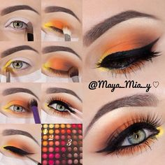 .@maya_mia_y | Pictorial Using the Coastal Scents 252 Ultimate Palette 1.Prime the lids us... | Webstagram - the best Instagram viewer