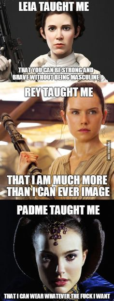 Not to mention Padme also taught me to see past someone's influences and bad habits and see instead the good and love in them, because it is there in everyone