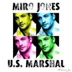 Miro Jones - Marshals series