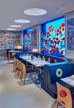 Pharmacy 2 restaurant Londres Damien Hirst 3