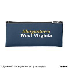 Morgantown, West Virginia Pencil Case