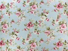 Roses Maison de campagne 2 - Tissus de décoration Fleurs - achetez à des prix très intéressants dans la boutique en ligne - tissus-hemmers.fr.