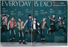 EXO 雑誌『mina 2016年4月号 (台湾版)』高画質スキャン画像3枚|K-POP時代なBIGBANG,SUPER JUNIOR,少女時代,東方神起,EXO、K-POP最新情報