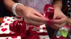 como hacer moños con cinta - YouTube
