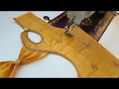 Model blouse gala back neck design cutting and stitching/Blouse designs - YouTube