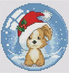 Gallery.ru / шар.Рождественский щенок - Новогоднее - Norsvet