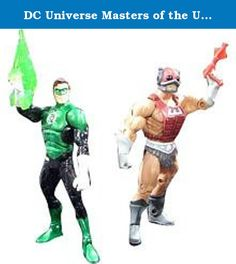 DC Universe Masters of the Universe Classics Action Figure 2Pack Cosmic Crusader Green Lantern Vs. Cosmic Enforcer Zodac. This special DC Universe vs Masters of the Universe 2pack includes one highly detailed 6inch scale DC Universe figure with superior articulation and a 6inch scale Masters of the Universe figure. Comes complete with accessories and comic book reprint packaging.