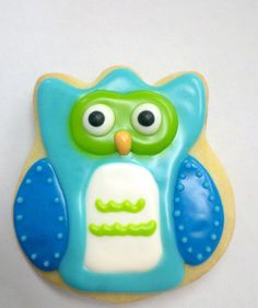 Owl Cookies 1 dozen by thehunniepot on Etsy, $30.00