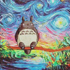 Amazing Totoro Art Worth To Know Totoro Society