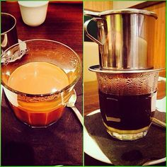 Vietnamese coffee with Condensed Milk