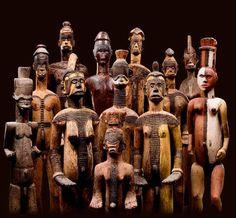 Igbo, Monumental sculptures from Nigeria. Source: Bernard de Grunne.