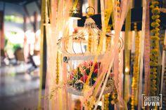 Flowers and beyond!  [ROSHINI + GAUTAM, Goa Wedding]