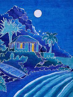 Batik Design of Caribbean Art, Guadeloupe