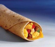 World's Recipe List: McDonald's Breakfast Burritos