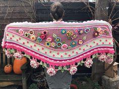 Crochet Shawl Free, Knit Crochet, Crochet Stitches Patterns, Stitch Patterns, Boho, Knitting, Etsy, Shawl, Knitting And Crocheting
