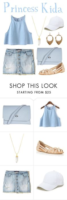 """""""Kida / Atlantis: The Lost Empire"""" by waywardfandoms ❤ liked on Polyvore featuring Topshop, American Coin Treasures, Miss Selfridge, Hollister Co., Sole Society and Melrose & Market"""