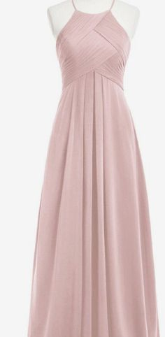 Halter Bridesmaid Dress,Nude Chiffon Bridesmaid Dresses,Empire Dress for Bridesmaid,APD2256
