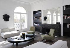 Un appartement rénové par Joseph Dirand rénovation - aménagement - maisons - appartements