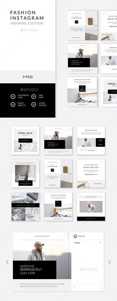 Instagram Banner, Instagram Grid, Instagram Design, Free Instagram, Instagram Posts, Instagram Layouts, Mise En Page Magazine, Instagram Post Template, Social Media Design