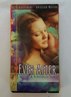Ever After: A Cinderella Story VHS, 1999 Drew Barrymore, Anjelica Houston