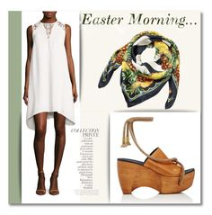 """""""Easter Morning"""" by rochellewood44 on Polyvore featuring French Connection, Simon Miller, Dolce&Gabbana and By Terry"""