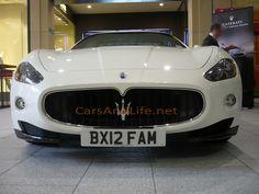 Cars & Life: Maserati GranTurismo: Mailbox, Birmingham, UK #maserati