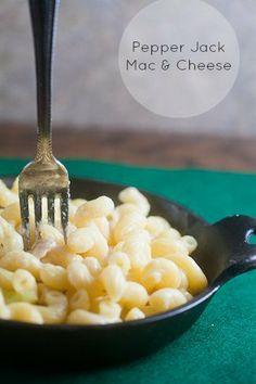 Creamy, dreamy pepper jack Mac and cheese. #recipe