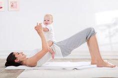 Rückbildungsgymnastik: Erste Übung