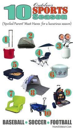 Outdoor Sports Season Must Have Items for the 'Spoiled Parent' must haves items for a more enjoyable sports season.must haves items for a more enjoyable sports season. Softball Tournaments, Baseball Tournament, Softball Mom, Soccer Moms, Softball Cheers, Softball Crafts, Softball Pitching, Softball Shirts, Fastpitch Softball