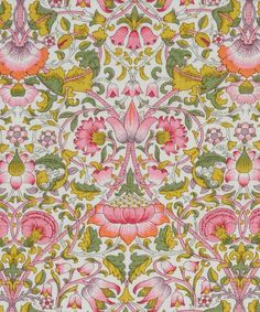 Liberty of London tana lawn fabric Lodden Textiles, Textile Patterns, Textile Design, Fabric Design, Pattern Design, Print Patterns, Floral Patterns, Design Color, Floral Designs