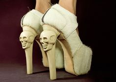 skull shoes ♡