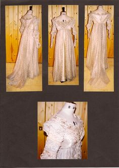 """EverAfter """"breathe"""" dress for Drew Barrymore -- The Costumer's Guide to Movie Costumes"""
