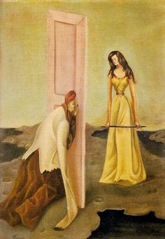 Leonor Fini,The Curious, 1936