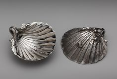 Jacques-Nicolas Roettiers (Flemish, active until 1777, died 1788). Two scallop-shell dishes from the Orloff Service, 1772–73.French; Paris. The Metropolitan Museum of Art, New York. Bequest of Catherine D. Wentworth, 1948 (48.187.386, .387)