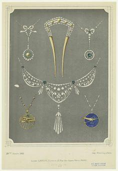 Jewelry circa 1910s