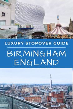 How to spend a day in Birmingham, England. A 12 hour day trip guide for the ultimate UK trip with travel tips including things to do, food recommendations, and where to find the best skyline view. | Mrs O Around the World #Travel #TravelTips #TravelGuide #Wanderlust #BucketList #Europe #Birmingham #England | Europe Trip | Travel Tips | Birmingham UK | Travel England Beautiful Places | UK Trip Luxury Travel, Us Travel, Places To Travel, Places To Visit, Travel Ideas, Travel Tips, Travel Around The World, Around The Worlds, Uk Trip