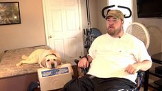 Luke Morris and Polar:  Two years ago, Luke Morris dove into a river and broke his back. He has limited movement in his arms, and cannot move his legs. Now, Polar, his 5-year-old Labrador Retriever, provides a helping hand.  From taking off a sweatshirt to getting the door, it adds up to a level of independence that Luke and his mom Linda thought they had lost. (Read the comments for more info.)