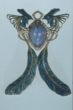 Lalique pendant, 1901
