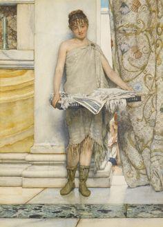 Sir Lawrence Alma-Tadema, O.M., R.A. | Lot | Sotheby's