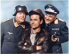 Hogan's Heroes ran for 168 episodes from September 17, 1965, to March 28, 1971, on the CBS network. The show was set in a German prisoner of war (POW) camp during the Second World War. Bob Crane starred as Colonel Robert E. Hogan, who coordinated an international crew of Allied prisoners running a Special Operations group from the camp. The program also featured Werner Klemperer as Colonel Wilhelm Klink, the commandant of the camp, and John Banner as the inept sergeant-of-the-guard, Schultz.