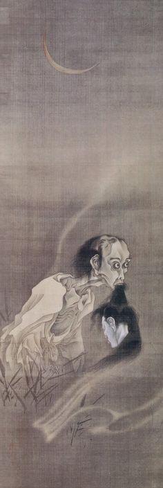 Kawanabe Kyōsai, Ghost painting | Dark Classics