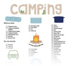 Here it is – my checklist from years of car camping! Every time I forgot something, the missing item gets added to the list. Just last weekend, I forgot the propane adapter for my camp stove,… Tent Camping Checklist, Camping List, Camping Stove, Camping Essentials, Camping Meals, Family Camping, Camping Hacks, Camping Kitchen, Camping Items