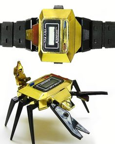 Ultra Rare. Scorpion Transformer Wrist Watch. Takara Scorpion...