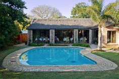 Amani Lodge in Walmer, Port Elizabeth, luxury B&B accommodation in a central location with pool. Port Elizabeth, Villa, Concept, Luxury, Outdoor Decor, Home, Ad Home, Homes, Fork