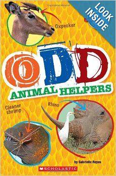We have a new beginning reader about strange animals.